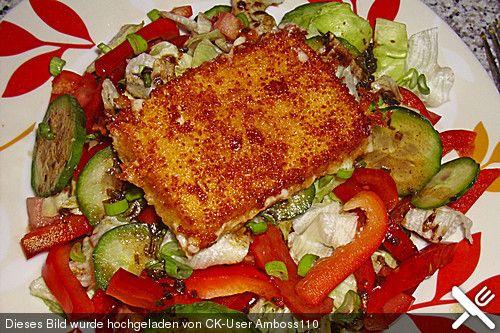 Gebratener Schafskäse auf griechischem Salat, ein schönes Rezept aus der Kategorie Gemüse. Bewertungen: 13. Durchschnitt: Ø 4,1.
