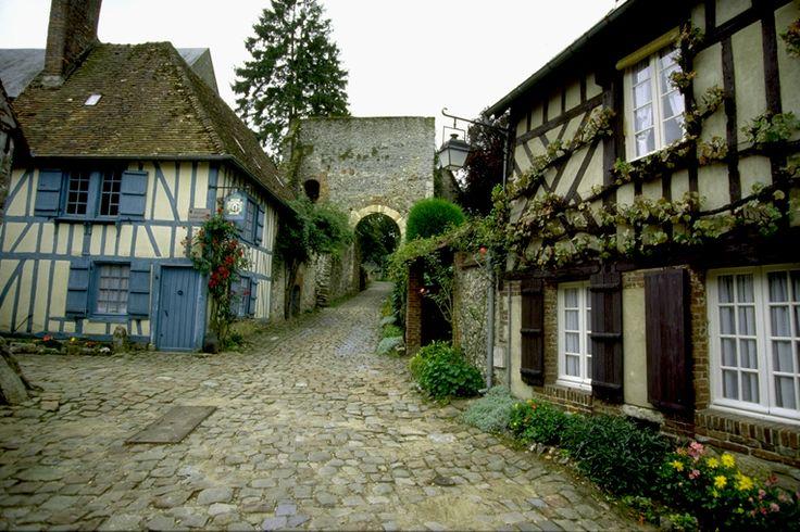 Gerberoy 02 maisons normandes idf idp images de picardie france mais - Plan maison normande ...