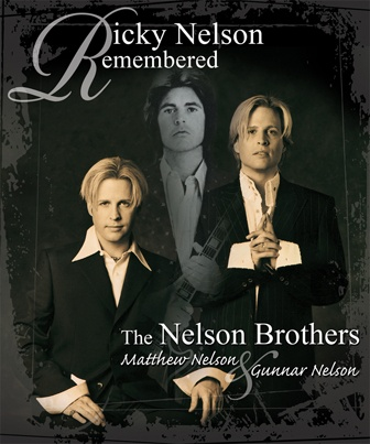 "November 15, 2012 Ricky Nelson Remembered is a unique multi-media entertainment event featuring the live music of Ricky Nelson's hit songs (including ""Hello Mary Lou,"" ""Travelin' Man,"" ""Garden Party"") performed by Ricky's own twin sons Matthew & Gunnar."