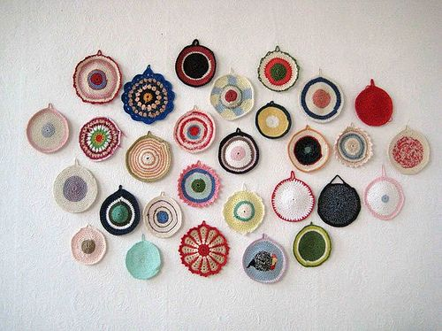 potholders ~ Mieke Willems