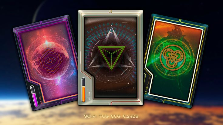 Combo 21 Team Sci Fi Tcg Ccg Card Templates Card Templates Card Games Unique Cards