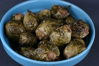 Very Best Brussels Sprouts - at least that's what this blogger says. I'm willing to give it a try since I really want to like brussel sprouts.