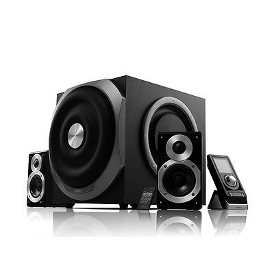 awesome Edifier S730 2.1 Channel Speaker System (Black) - For Sale Check more at http://shipperscentral.com/wp/product/edifier-s730-2-1-channel-speaker-system-black-for-sale/