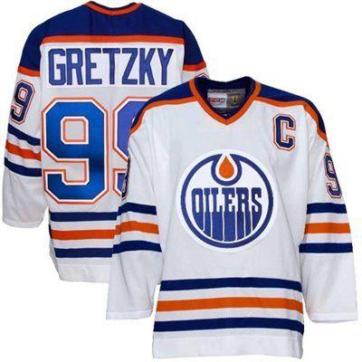 Edmonton Oilers #99 Wayne Gretzky White Heroes of Hockey Jersey