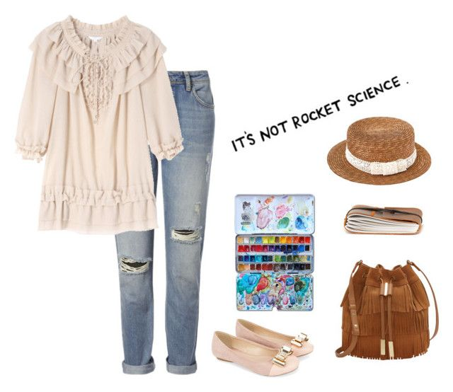 it's hard by vampirliebling on Polyvore featuring polyvore fashion style Whistles Monsoon Vince Camuto clothing