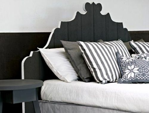 The Ultimate Neutral: 10 Shades of Grey Furniture: Paola Swede, Beds, Headboards, Dream House, Bedroom Design, Bedrooms, Furniture, Photo, Bedroom Ideas