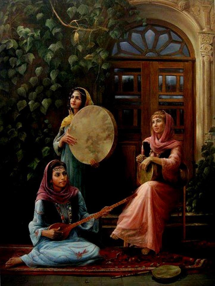بوی عیدی ، بوی توت ، بوی کاغذرنگی... بوی تند ماهیدودی وسط ، سفره نو... بوی یاس جانماز ترمه مادربزرگ ... با اینا زمستون رو ، سر میکنم... با اینا خستگیم رو ، در میکنم...! با اینا زمستون رو ، سر میکنم... با اینا خستگیم رو ، در میکنم...! عید نوروز مبارک بر تمام فارسی زبانان دنیا مبارک