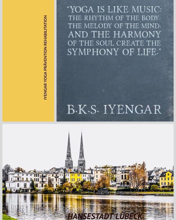 #Iyengar #Yoga #Prävention Rehabilitation...#Hansestadt #Lübeck