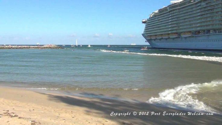 Oasis of the Seas Tsunami 3-24-2012