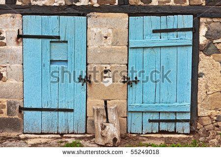 French Country Barn Door Puertas Estilo Pinterest