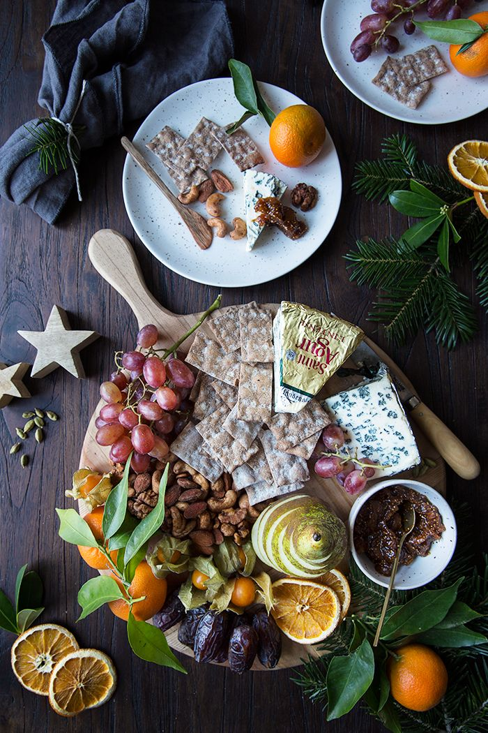 A Holiday Cheese Board with Homemade Fig and Orange Marmalade + Spicy Nuts :: Sonja Dahlgren/Dagmar's Kitchen