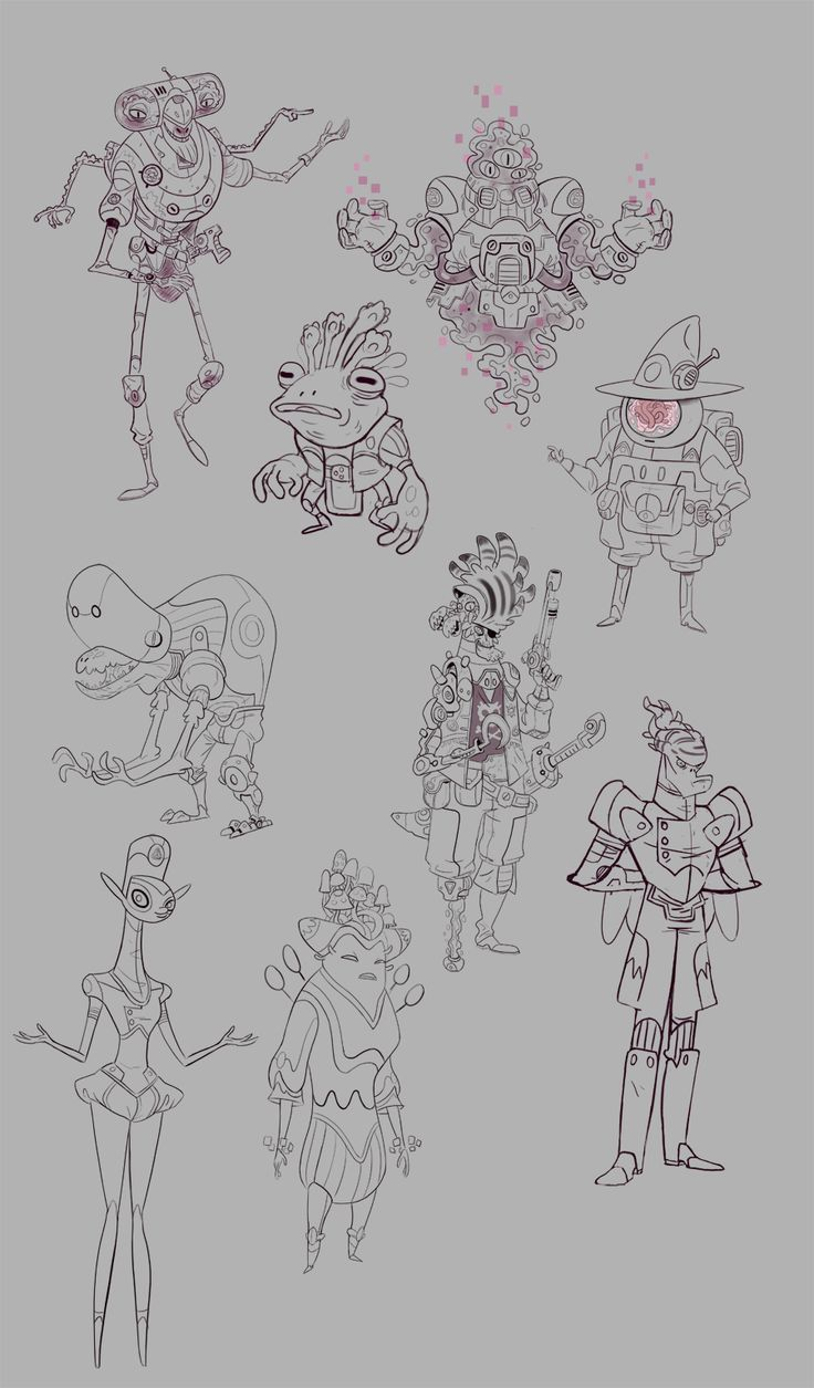 D Amp D Character Design : Unknown star game on behance character pinterest