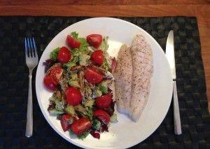 Bijzondere lauwwarme salade met schorseneren en avocado - Goed Eten Gezond Leven