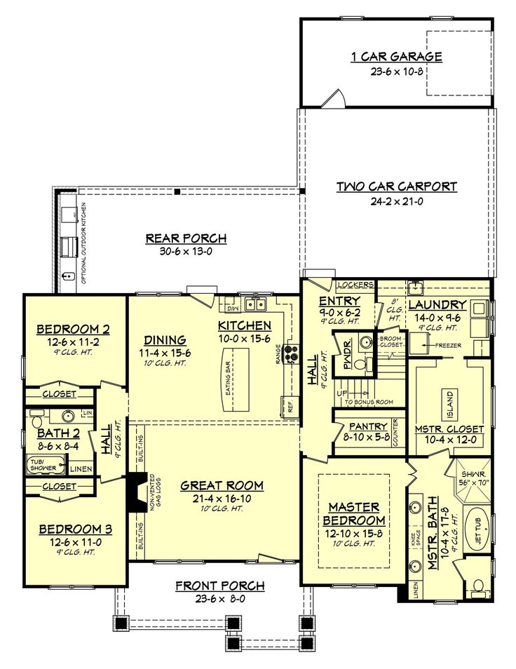 25 best ideas about ranch remodel on pinterest ranch for House plans with mudrooms