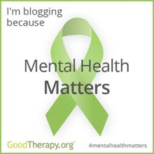 May is Mental Health awareness Month. To promote mental health join GoodTherapy.org's Blogging Event