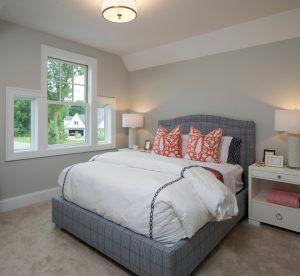 Benjamin Moore 1479 Alaskan Husky Grey Bedroom Paint Color