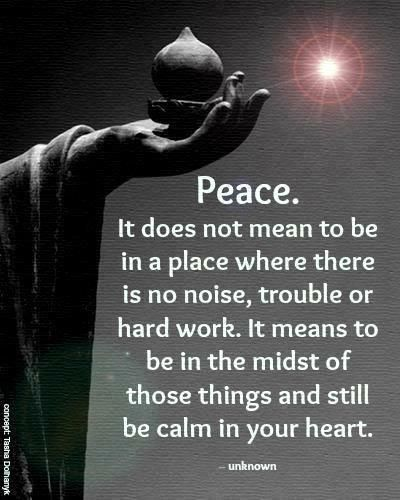 This is SO true especially when dealing with people you don't like.   I feel that achieving this is one step closer to enlightenment. :-)