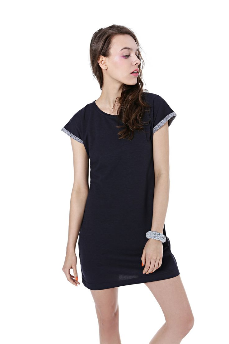 Basic jersy dress, spring/summer 2014 collection. #basic #kamilagronner #bonbonjewelery