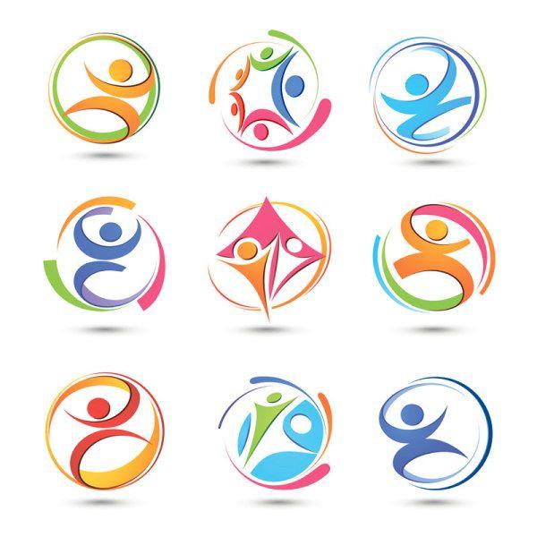 Sports abstract symbols