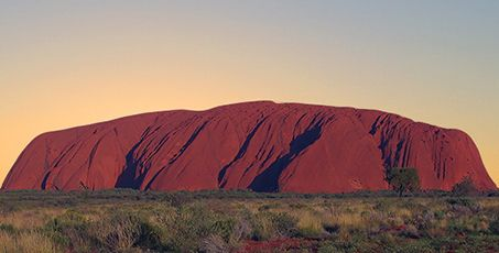 Number 13 ~ Watch the sunrise over Uluru