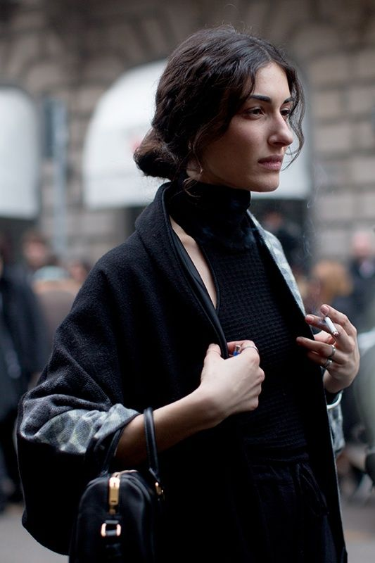 The Sartorialist / At The Shows, Milan // #Fashion, #FashionBlog, #FashionBlogger, #Ootd, #OutfitOfTheDay, #StreetStyle, #Style