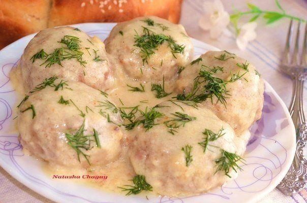 Мясные тефтели в молочном соусе   Наша кухня - рецепты на любой вкус!