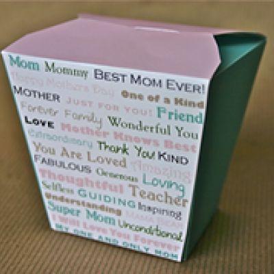 Mother's Day Printable Mini Gift Box