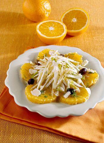 Insalata con arance e finocchi