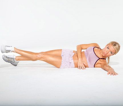 Gwyneth Paltrow's Arm and Ab Moves: Healthy Stars: Self.com:Custom-designed moves from Tracy Anderson for any body type