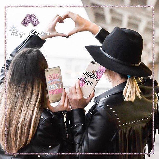 Sister love ❤️scarica la nostra applicazione disponibile da App o Google Play Store!!!#mycaseitaly #cover #spedizionegratuita #phonecase