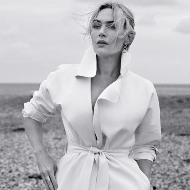 Kate Winslet (in Ralph Lauren) photographed by Giampaolo Sguras for InStyle magazine, March 2015.