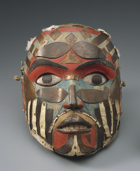 Copper Mask from Northwest Coast (Cambridge Museum of Archaeology and Anthropology)
