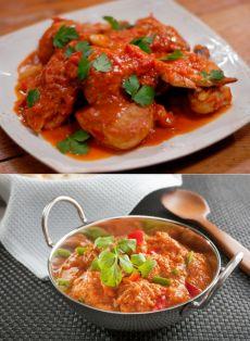 Курица с томатной пастой / Простые рецепты