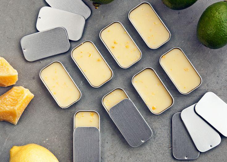 DIY lip balm with lemoncest - Organic Makers