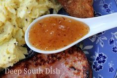Classic spicy, sweet and sour Southern Jezebel Sauce, great over cream cheese with crackers, and as a table condiment to serve with meats and poultry. Also great as a dipping sauce for coconut shrimp, fried seafood, and eggrolls.