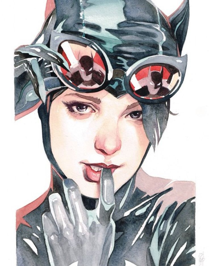 Catwoman by Garrie Gastonny *