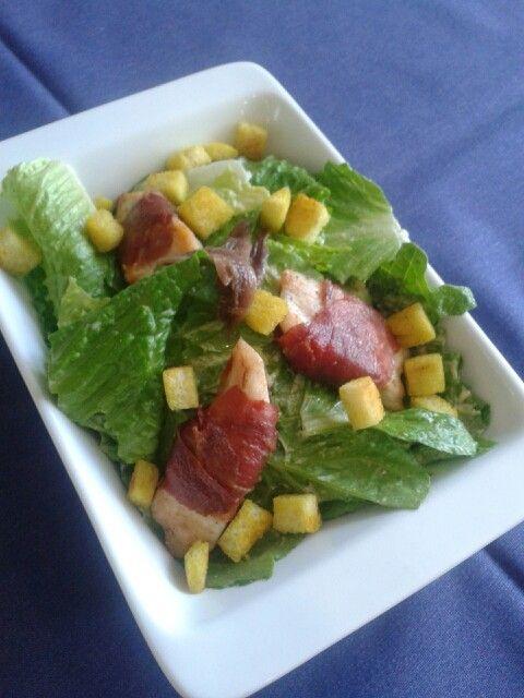 Cesear salad by my friend