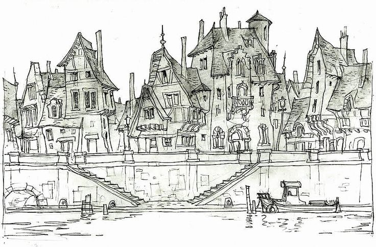 Film: Hotel Transylvania ===== Setting: The Town ===== Artist: Luc Desmarchelier
