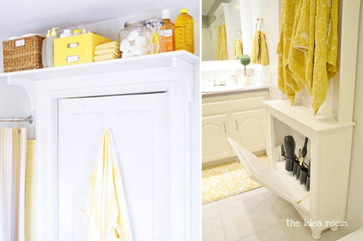 pomysły naprzechowywanie wmałej łaziece