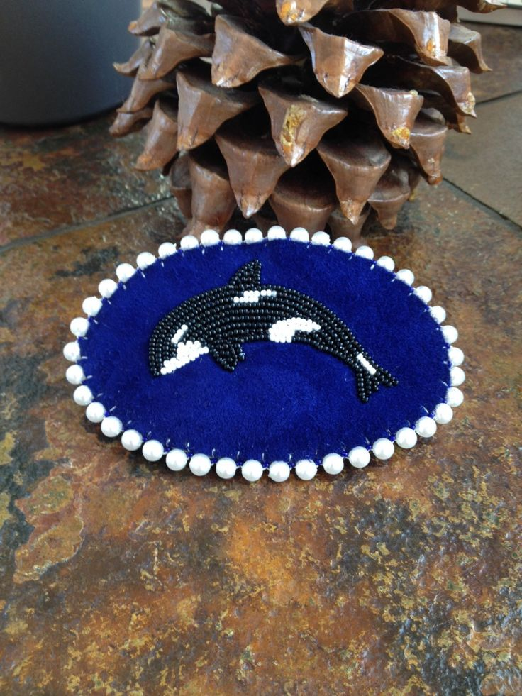 A personal favorite from my Etsy shop https://www.etsy.com/listing/289114155/orca-whale-barrette