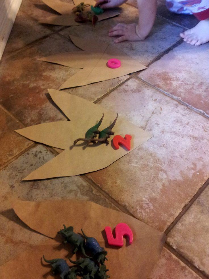 Various dinosaur activities