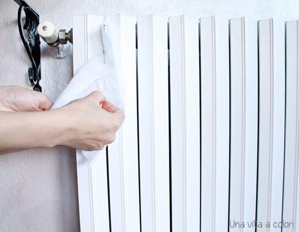 pulire i caloriferi in ghisa