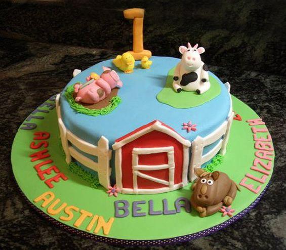 Celebration Cakes Barnyard Cake Gold Coast – The