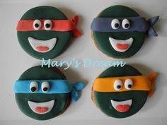Biscotti Tartarughe Ninja  Il mio sito: www.marysdream.it  La mia pagina Facebook: https://www.facebook.com/MaryPasticciona