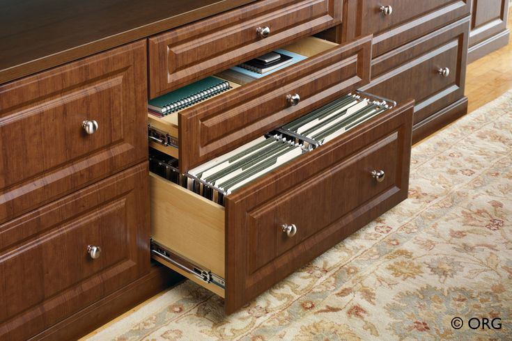 lateral-file-cabinet-Home-Office-Transitional-with-built-in-desk ...
