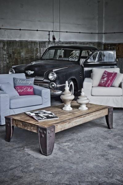 Vintage Style Table - Almi Decor