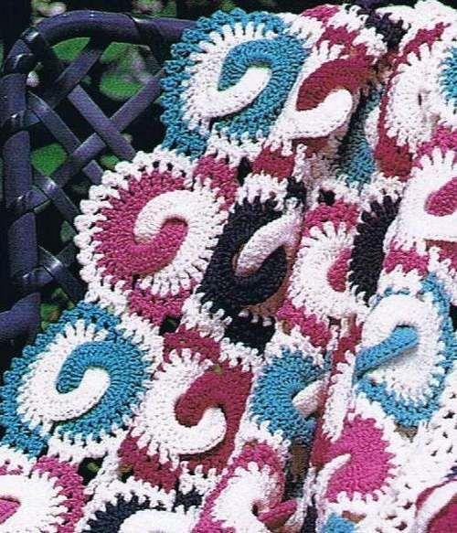 50 Quick Easy Afghan Crochet Pattern Book Baby Rings