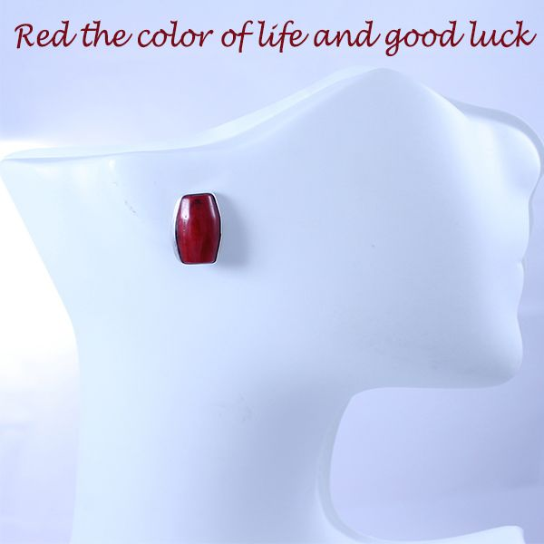 Red the color of life and good luck...