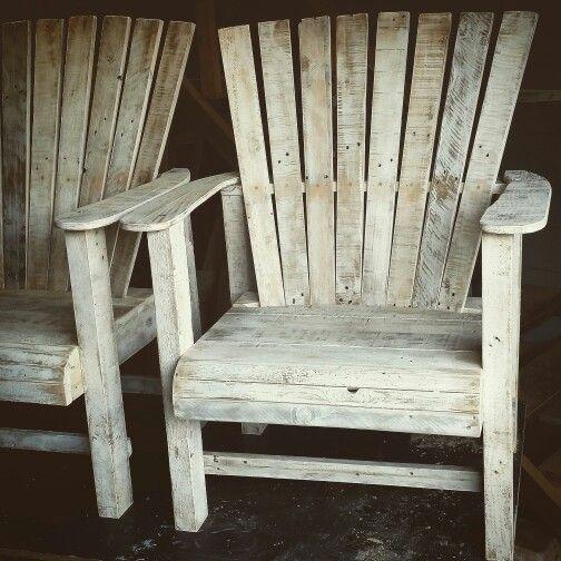 Custom made on the Gold Coast Adirondack Chairs