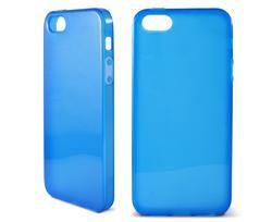 Flex TPU Ksix para iPhone 5 translúcida azul